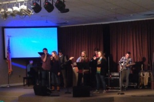 NMA chapel band